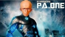 Ra One Funny Picture Pa One Shahrukh Khan's Ra One