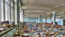 Abandoned Library from Russia