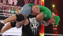 Brock Lesnar returns to the WWE Raw