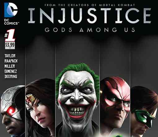 Injustice Gods Among Us Volume 1 story Batman Vs Superman