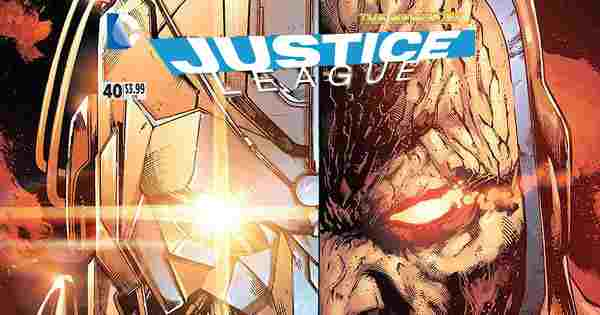 Darkseid wars story review Justice League vol 2 #40