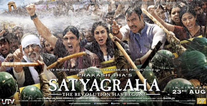 Satyagraha 2013 Moview Review and Story
