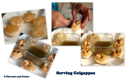 Chocolate Golgappe recipe by Sanjeev Kapoor