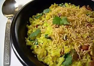 Aloo Poha recipe and video