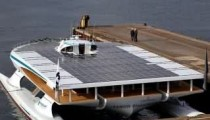 Planetsolar biggest solar panel German ship pictures