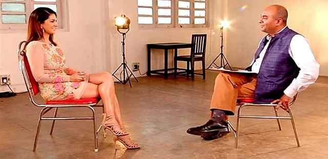 Sunny Leone's interview with Bhupendra Chaubey video