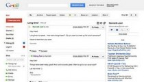 New Gmail looks pictures from the Gmail new theme