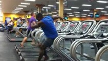 Guy Dances on Tread Mill Youtube Video