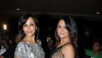 Malaika and Amrita Arora hot pictures at Website Launch