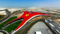 Ferrari World Abu Dhabi Pictures Videos Fastest Roller Coaster and Wiki