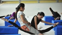 Chinese kids training in Gymnastics Brutal Training Pics