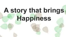 A story that brings Happiness