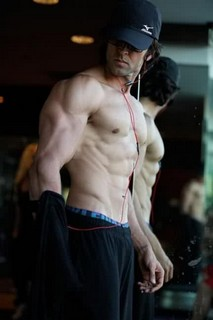 Krissh 2 Hrithik workout Pictures Krissh 2 first looks