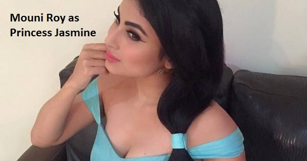 Mouni Roy latest hot pics as Jasmine and other photos Wiki