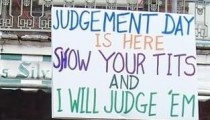 Judgement day is here a message by Jesus