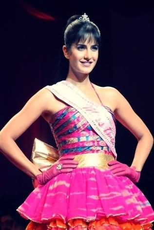 Katrina Kaif Barbie Doll look at fashion week
