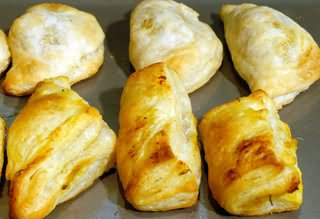 Vegetable puff recipe and video
