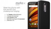 Moto X Force price and review shattershield display