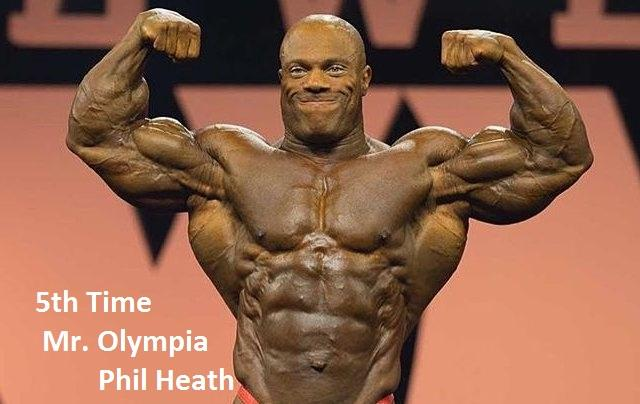 Phil Heath wins Mr. Olympia 2015 for 5th time