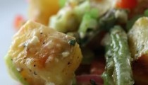 Potato and Pomegranate salad recipe and video