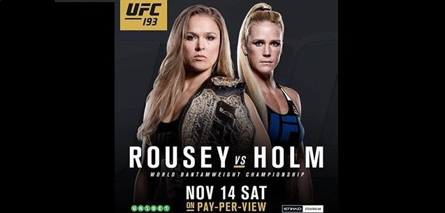 Ronda Rousey hospitalized after fight with Holly Holm