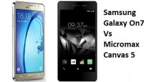 Samsung Galaxy On7 and Micromax Canvas 5 phone reviews