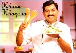 Khana Khazana 17 April watch online video Khana Khazana Sanjeev Kapoor