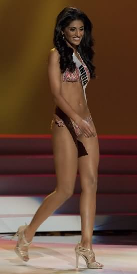 Awful looking Miss India Universe 2011 looses again want to know why